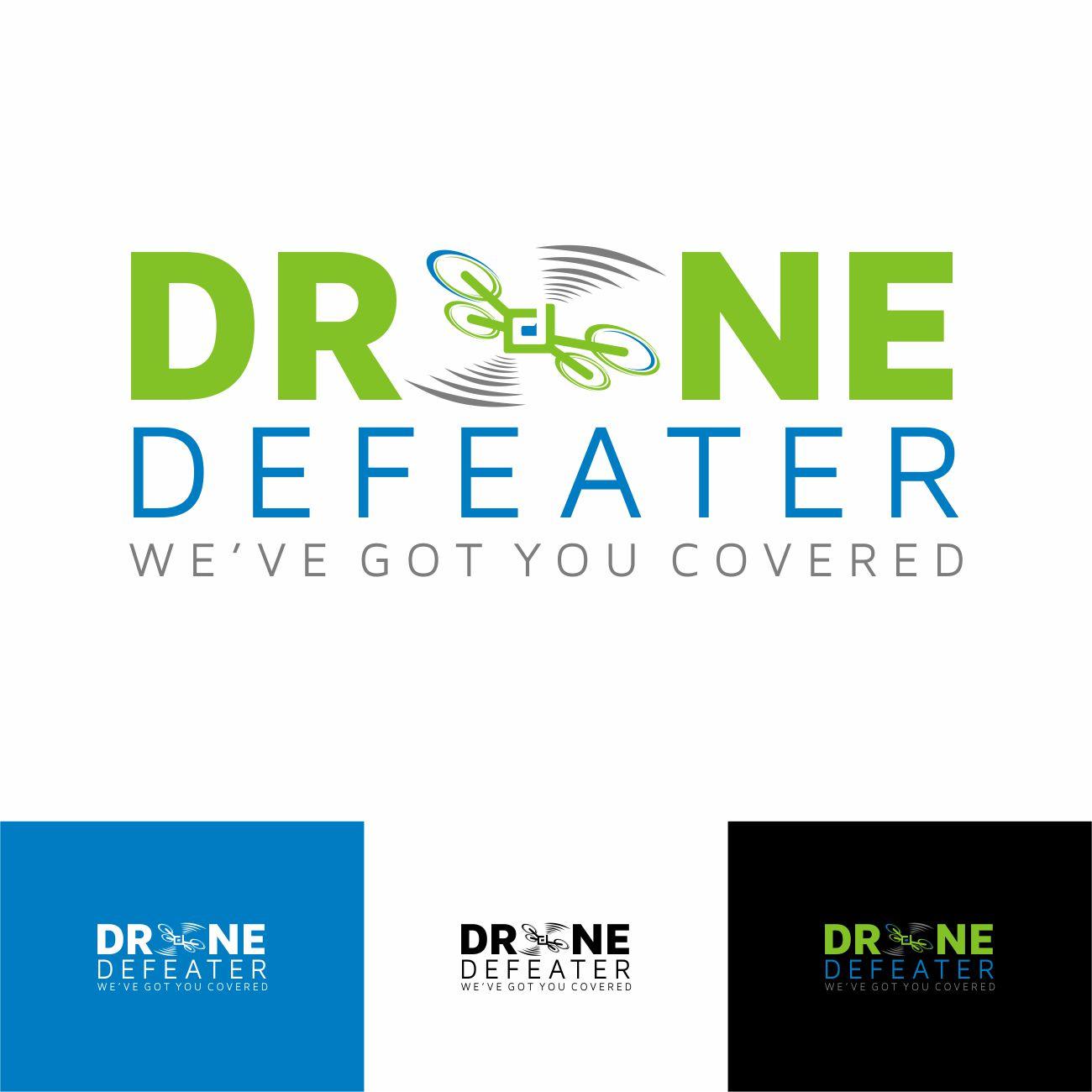 Logo Design by RasYa Muhammad Athaya - Entry No. 87 in the Logo Design Contest Artistic Logo Design for Drone Defeater.