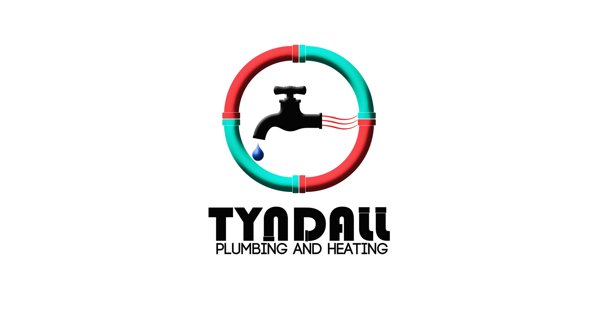 Logo Design by Arqui ACOSTA - Entry No. 50 in the Logo Design Contest Imaginative Logo Design for Tyndall Plumbing & Heating.