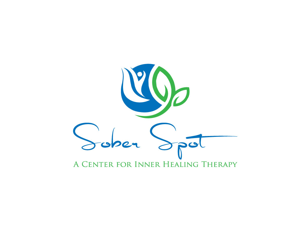 Logo Design by Mohammad azad Hossain - Entry No. 4 in the Logo Design Contest Unique Logo Design Wanted for Sober Spot A Center for Inner Healing Therapy.