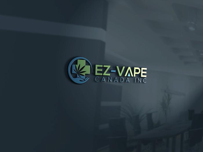 Logo Design by Mohammad azad Hossain - Entry No. 28 in the Logo Design Contest Inspiring Logo Design for EZ-Vape Canada Inc.