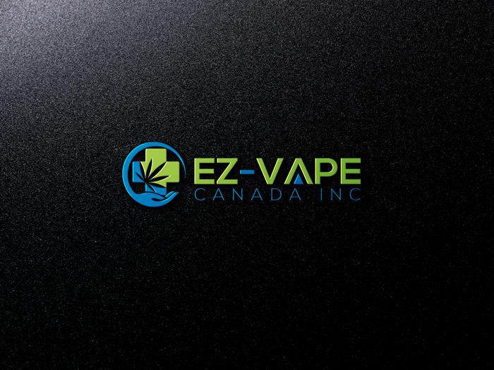 Logo Design by Mohammad azad Hossain - Entry No. 29 in the Logo Design Contest Inspiring Logo Design for EZ-Vape Canada Inc.