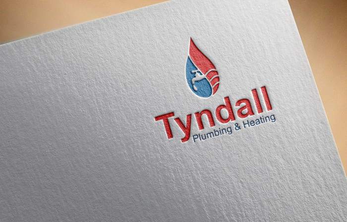 Logo Design by Mohammad azad Hossain - Entry No. 55 in the Logo Design Contest Imaginative Logo Design for Tyndall Plumbing & Heating.