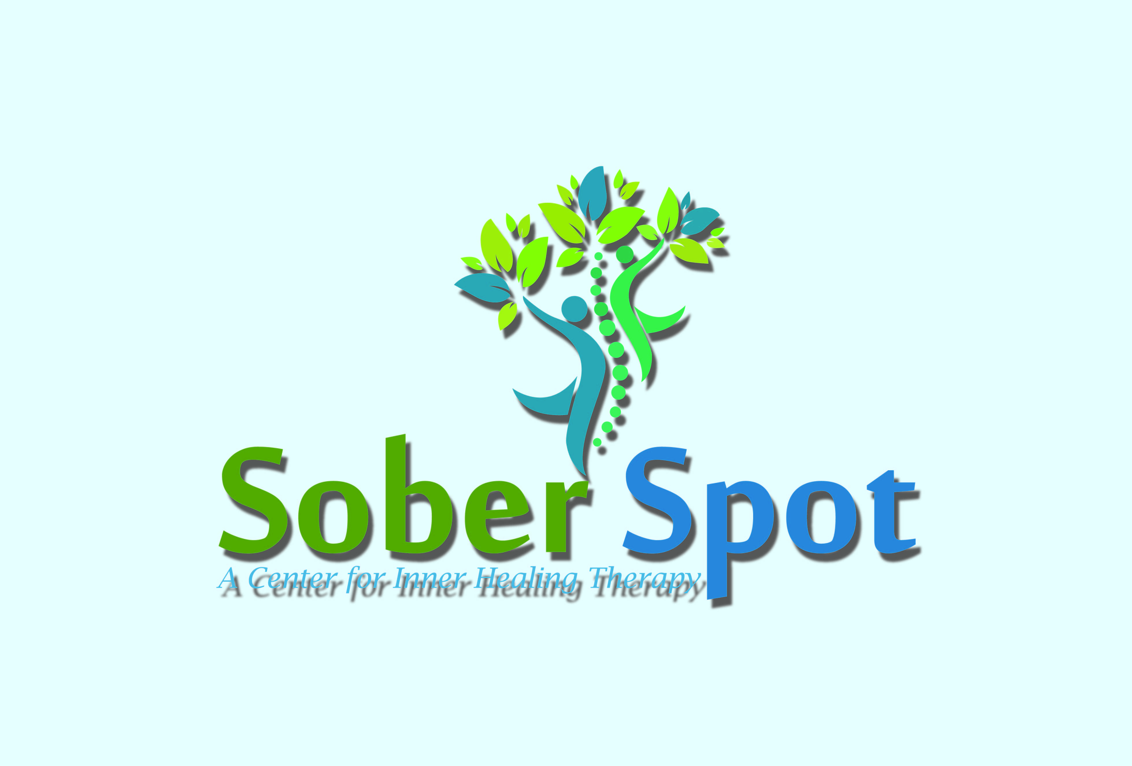 Logo Design by Private User - Entry No. 24 in the Logo Design Contest Unique Logo Design Wanted for Sober Spot A Center for Inner Healing Therapy.