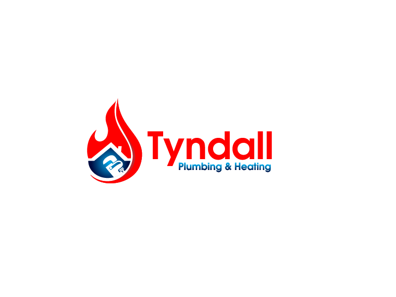 Logo Design by Private User - Entry No. 62 in the Logo Design Contest Imaginative Logo Design for Tyndall Plumbing & Heating.