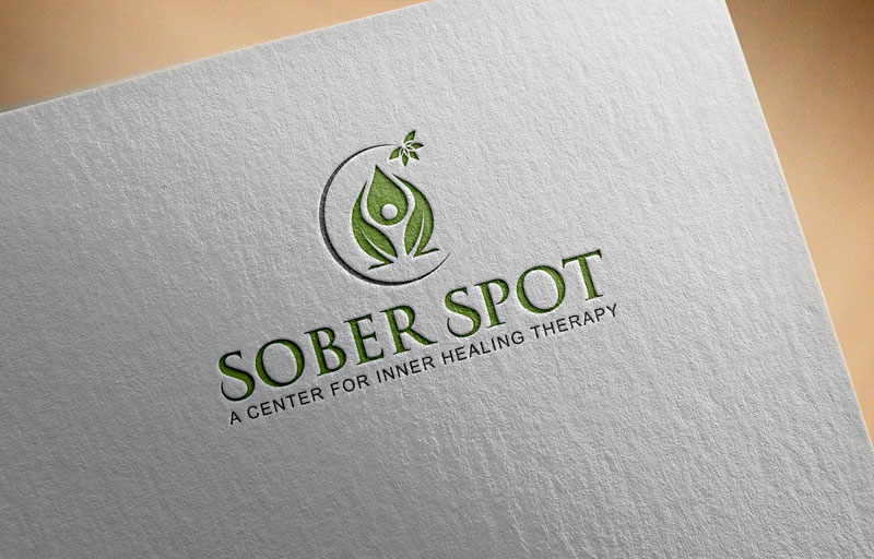 Logo Design by Private User - Entry No. 30 in the Logo Design Contest Unique Logo Design Wanted for Sober Spot A Center for Inner Healing Therapy.