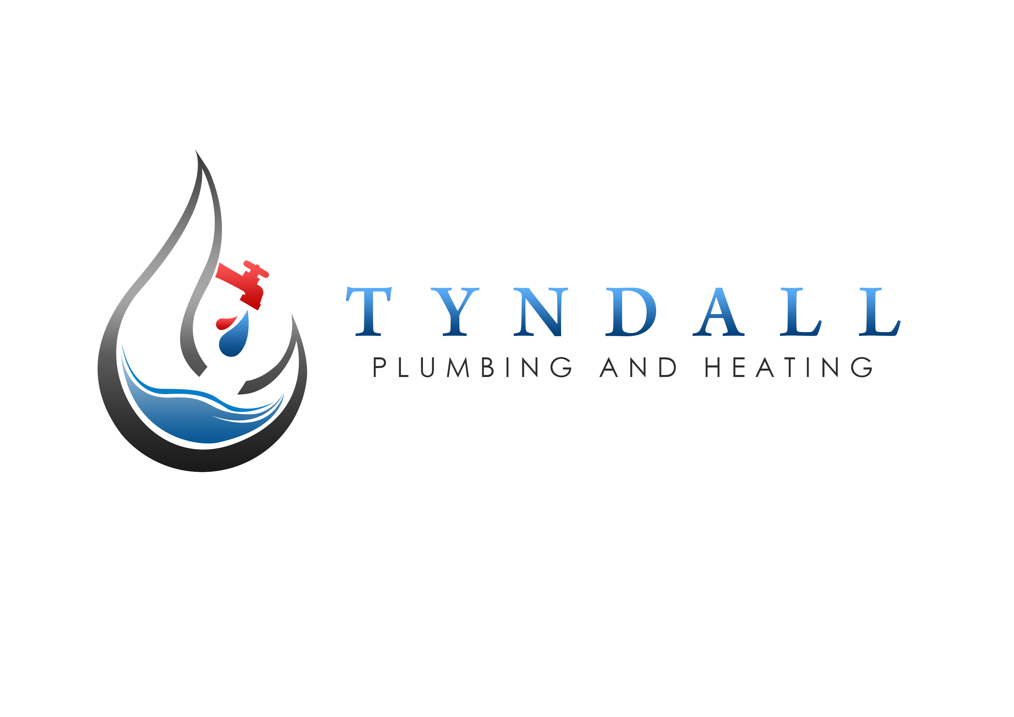 Logo Design by Jesther Jordan Minor - Entry No. 65 in the Logo Design Contest Imaginative Logo Design for Tyndall Plumbing & Heating.