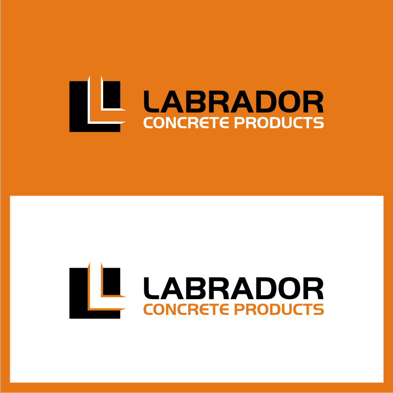 Logo Design by untung - Entry No. 94 in the Logo Design Contest Logo for Labrador Concrete Products.