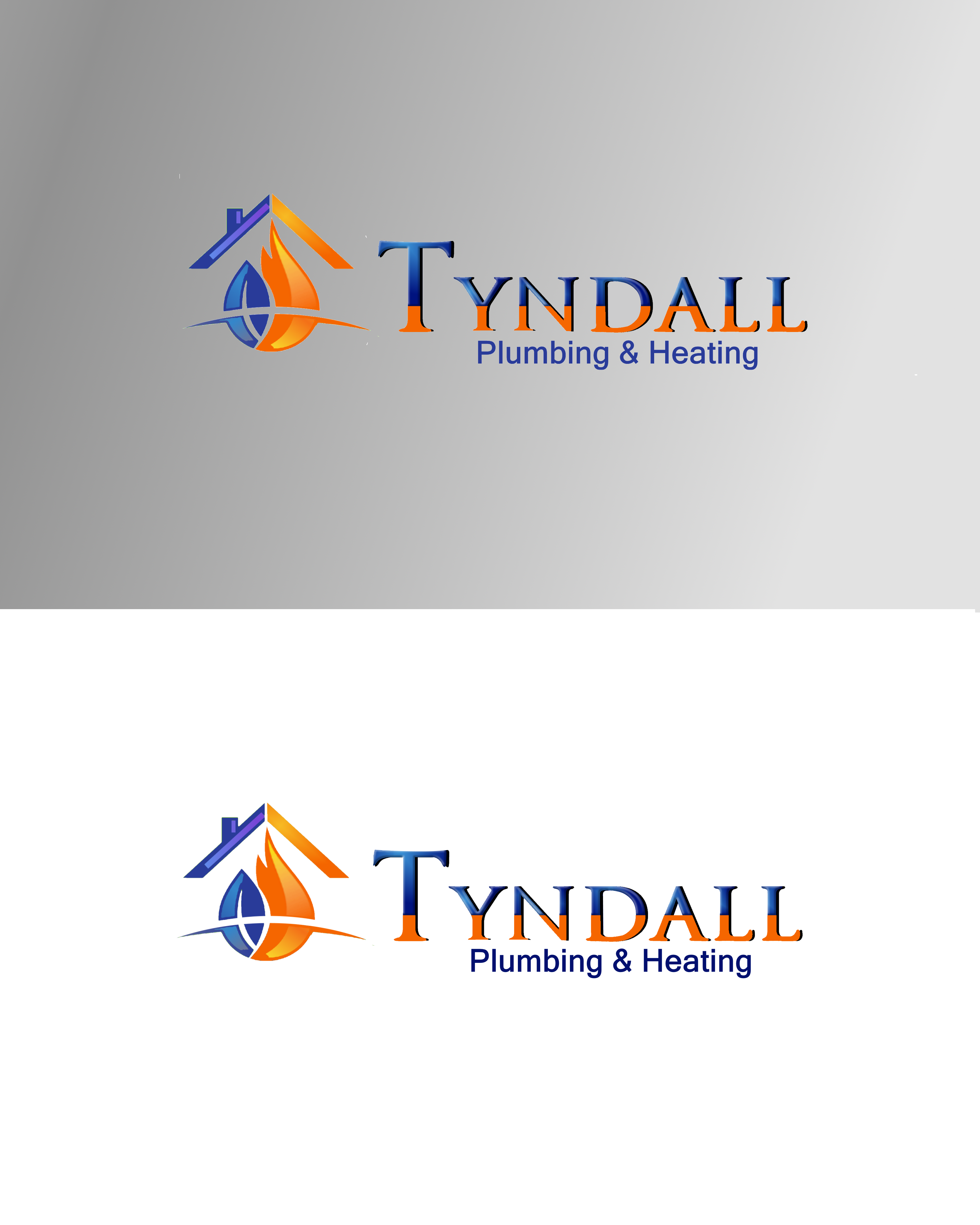 Logo Design by Roberto Bassi - Entry No. 69 in the Logo Design Contest Imaginative Logo Design for Tyndall Plumbing & Heating.