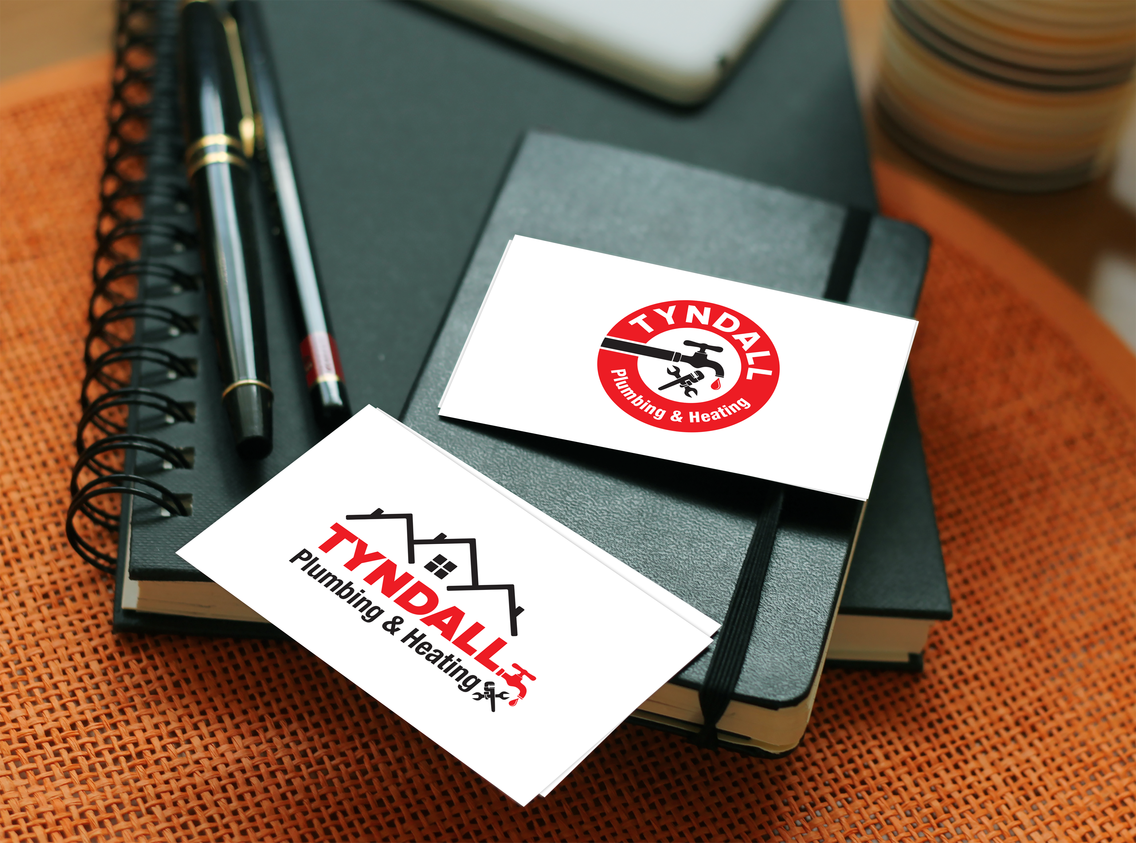 Logo Design by Bac Huu - Entry No. 70 in the Logo Design Contest Imaginative Logo Design for Tyndall Plumbing & Heating.