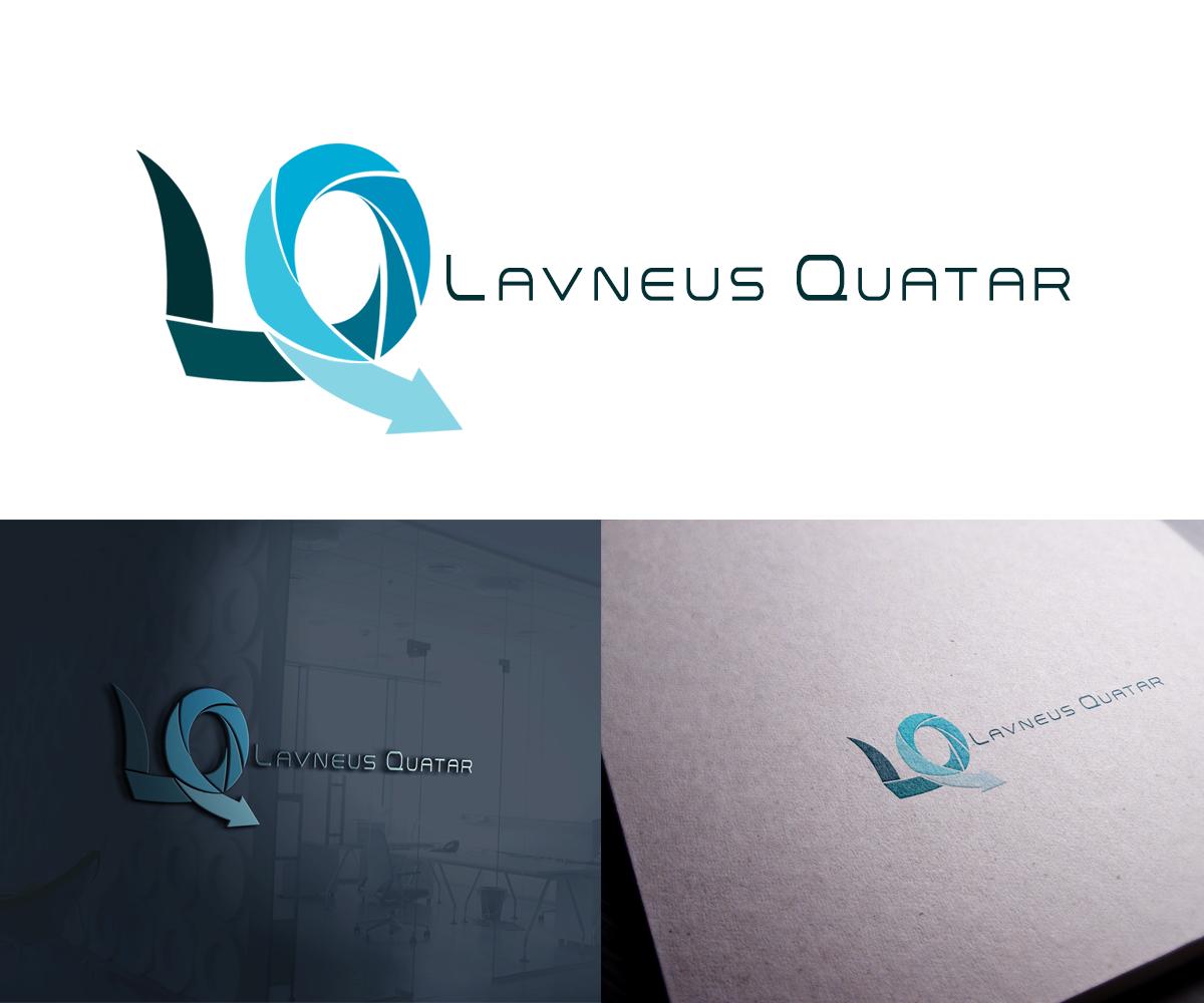 Logo Design by John Melvie Sulla - Entry No. 9 in the Logo Design Contest Imaginative Logo Design for lavneus qatar.