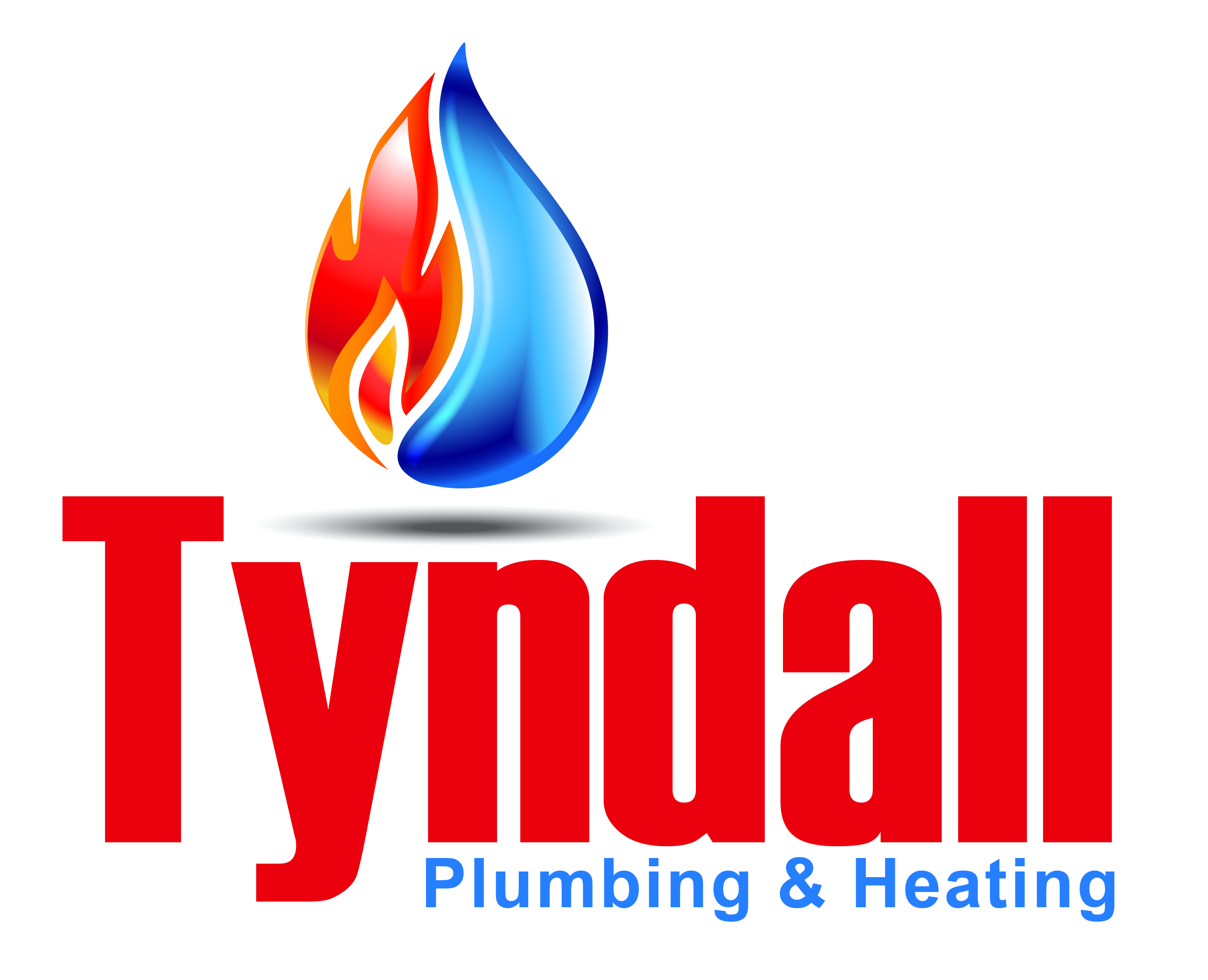 Logo Design by Rob King - Entry No. 72 in the Logo Design Contest Imaginative Logo Design for Tyndall Plumbing & Heating.