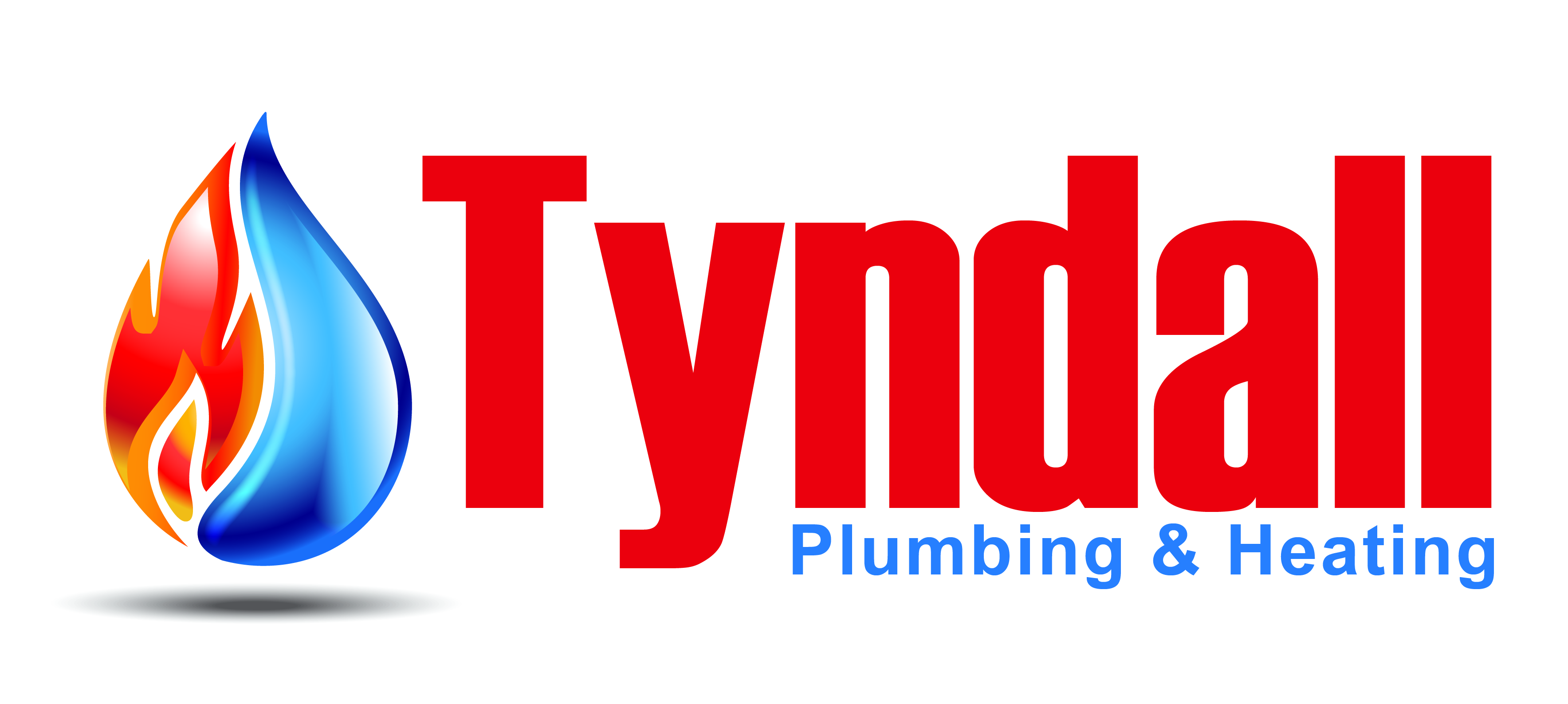 Logo Design by Rob King - Entry No. 73 in the Logo Design Contest Imaginative Logo Design for Tyndall Plumbing & Heating.