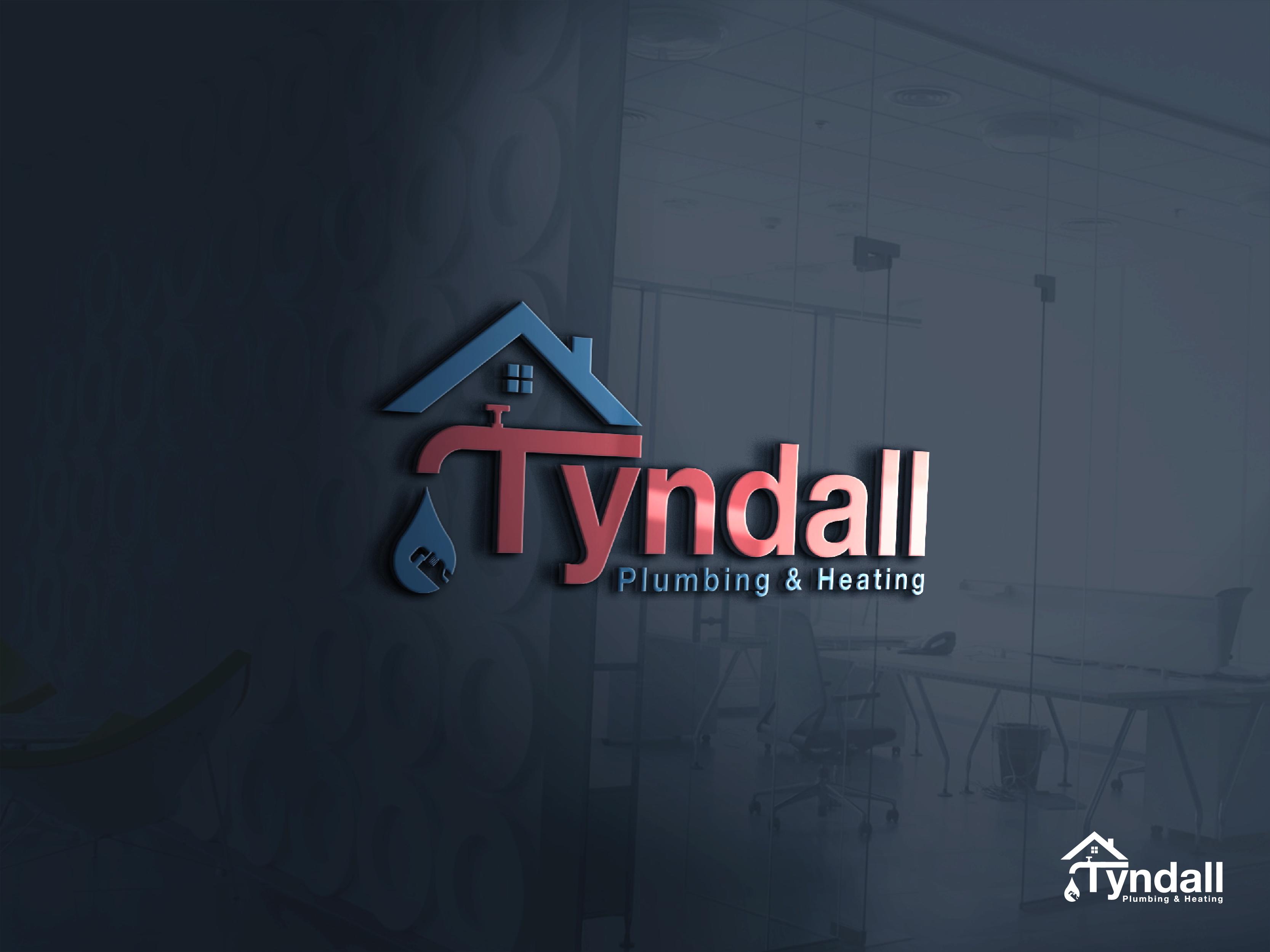 Logo Design by Shivaprasad Sangondimath - Entry No. 77 in the Logo Design Contest Imaginative Logo Design for Tyndall Plumbing & Heating.