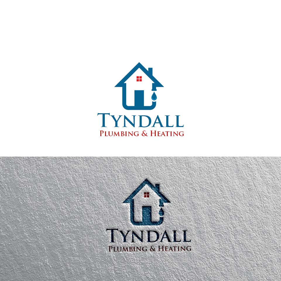 Logo Design by Private User - Entry No. 90 in the Logo Design Contest Imaginative Logo Design for Tyndall Plumbing & Heating.