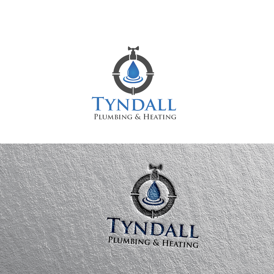 Logo Design by Private User - Entry No. 93 in the Logo Design Contest Imaginative Logo Design for Tyndall Plumbing & Heating.