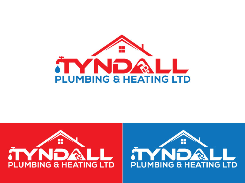 Logo Design by Md Emdad - Entry No. 105 in the Logo Design Contest Imaginative Logo Design for Tyndall Plumbing & Heating.