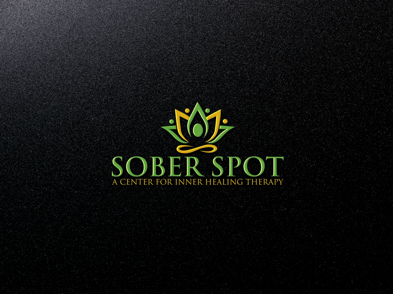 Logo Design by Private User - Entry No. 55 in the Logo Design Contest Unique Logo Design Wanted for Sober Spot A Center for Inner Healing Therapy.