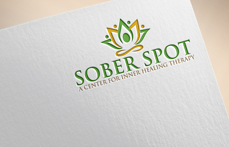 Logo Design by Private User - Entry No. 56 in the Logo Design Contest Unique Logo Design Wanted for Sober Spot A Center for Inner Healing Therapy.