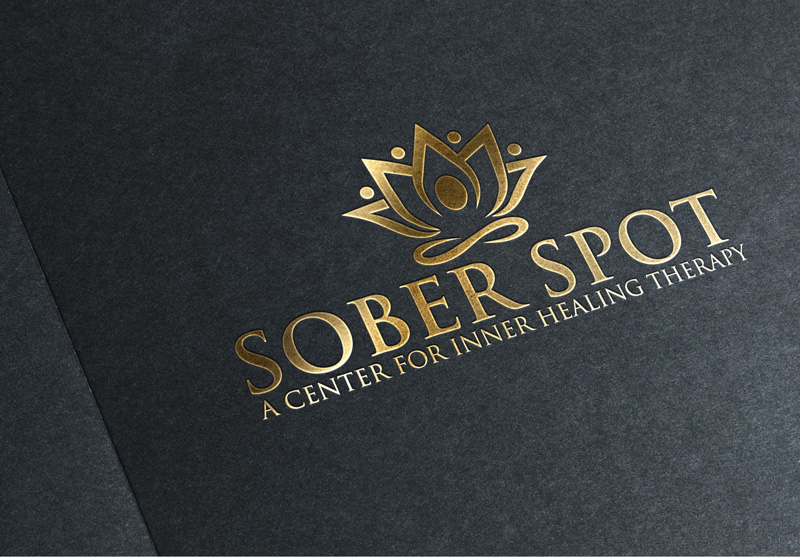 Logo Design by Private User - Entry No. 57 in the Logo Design Contest Unique Logo Design Wanted for Sober Spot A Center for Inner Healing Therapy.