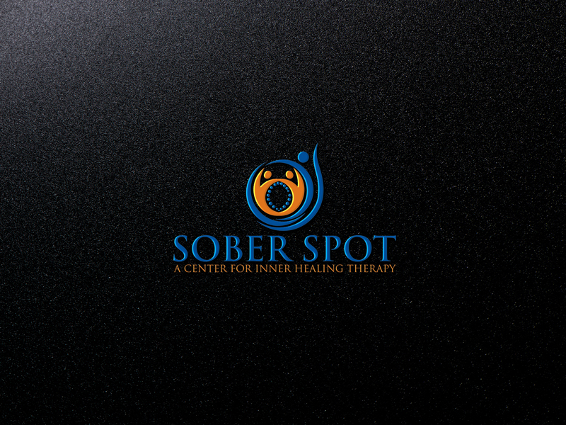 Logo Design by Private User - Entry No. 59 in the Logo Design Contest Unique Logo Design Wanted for Sober Spot A Center for Inner Healing Therapy.