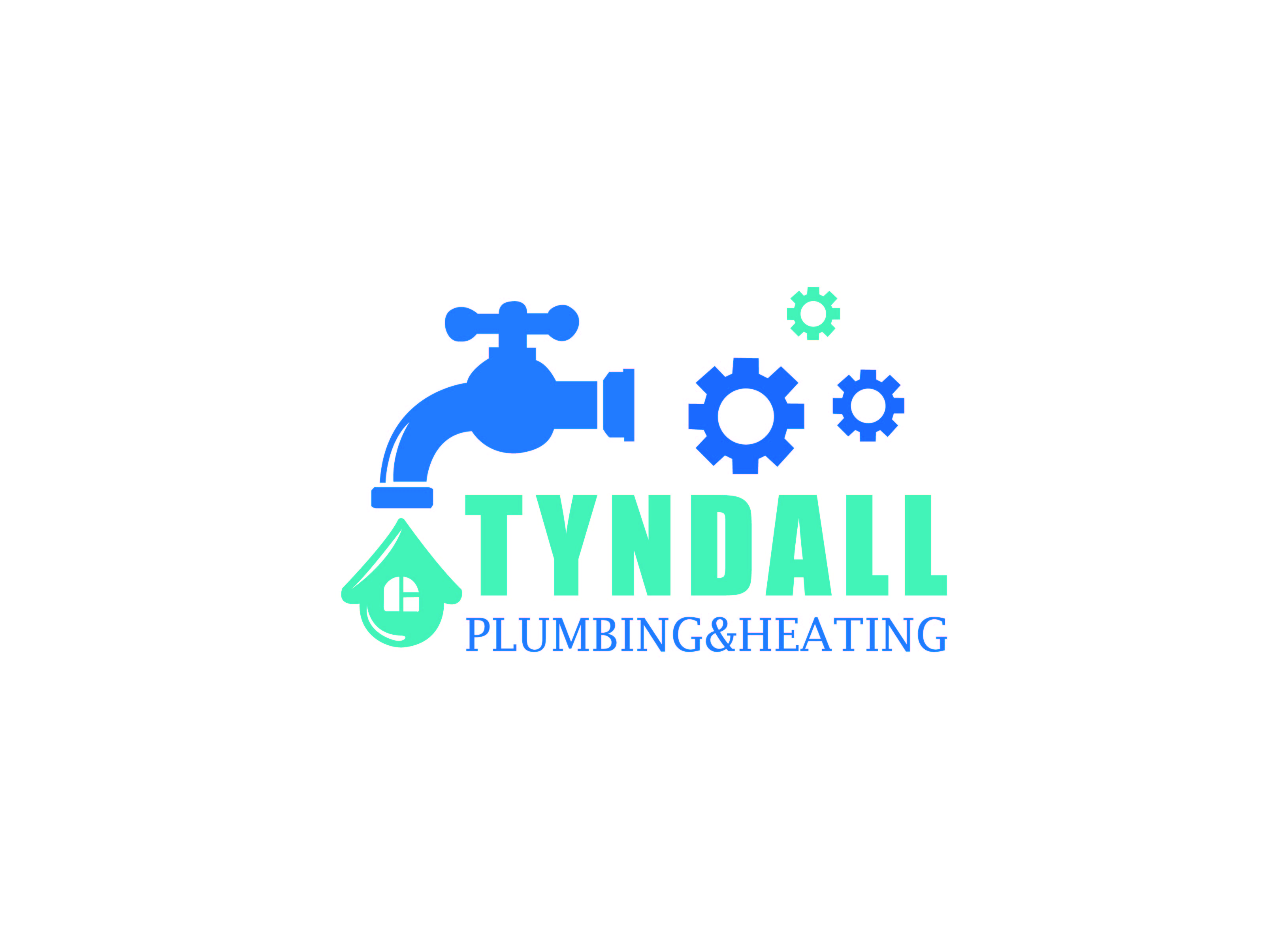 Logo Design by Private User - Entry No. 110 in the Logo Design Contest Imaginative Logo Design for Tyndall Plumbing & Heating.
