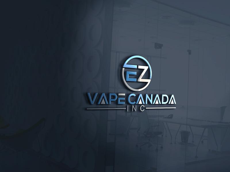 Logo Design by Private User - Entry No. 52 in the Logo Design Contest Inspiring Logo Design for EZ-Vape Canada Inc.