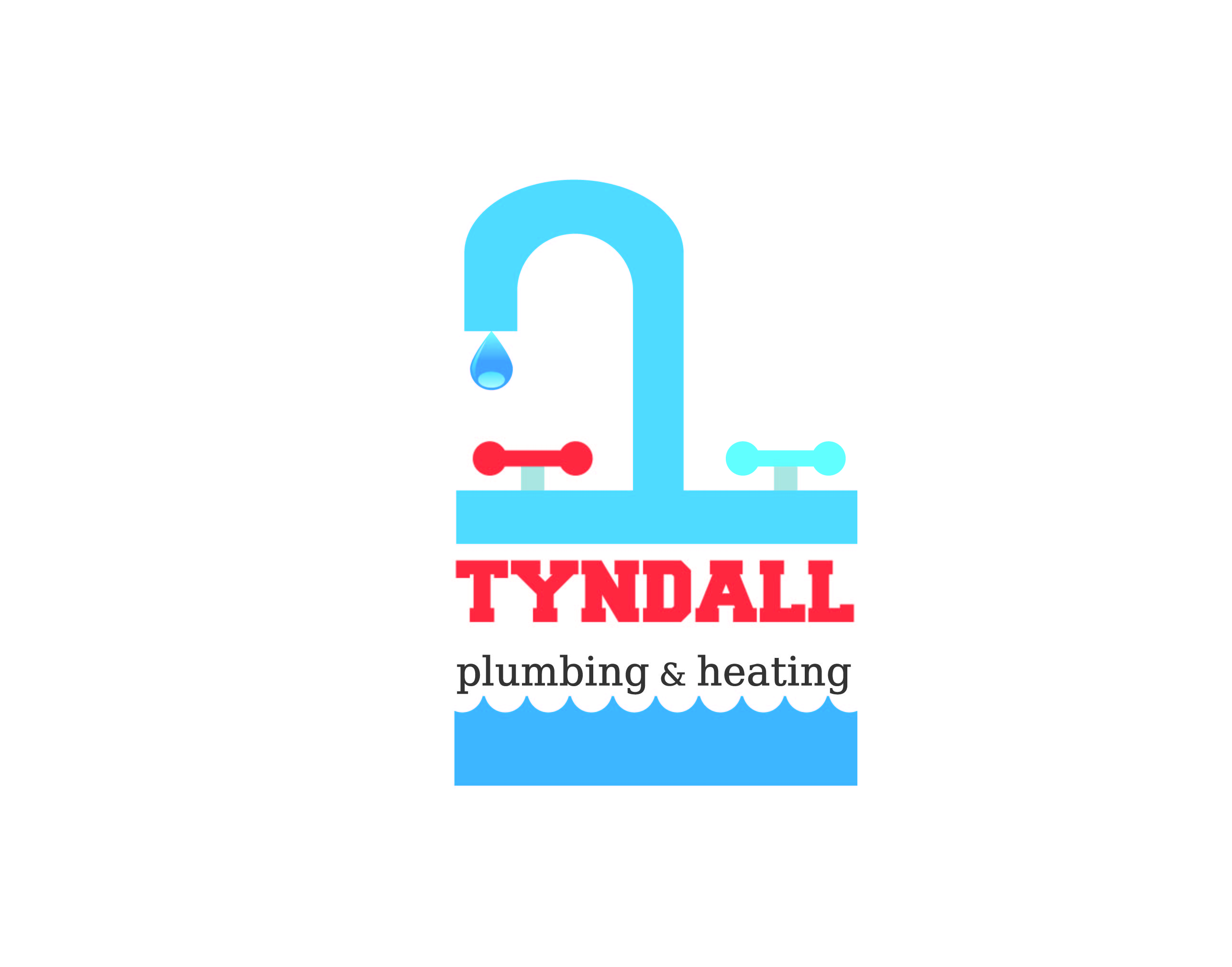 Logo Design by Private User - Entry No. 111 in the Logo Design Contest Imaginative Logo Design for Tyndall Plumbing & Heating.