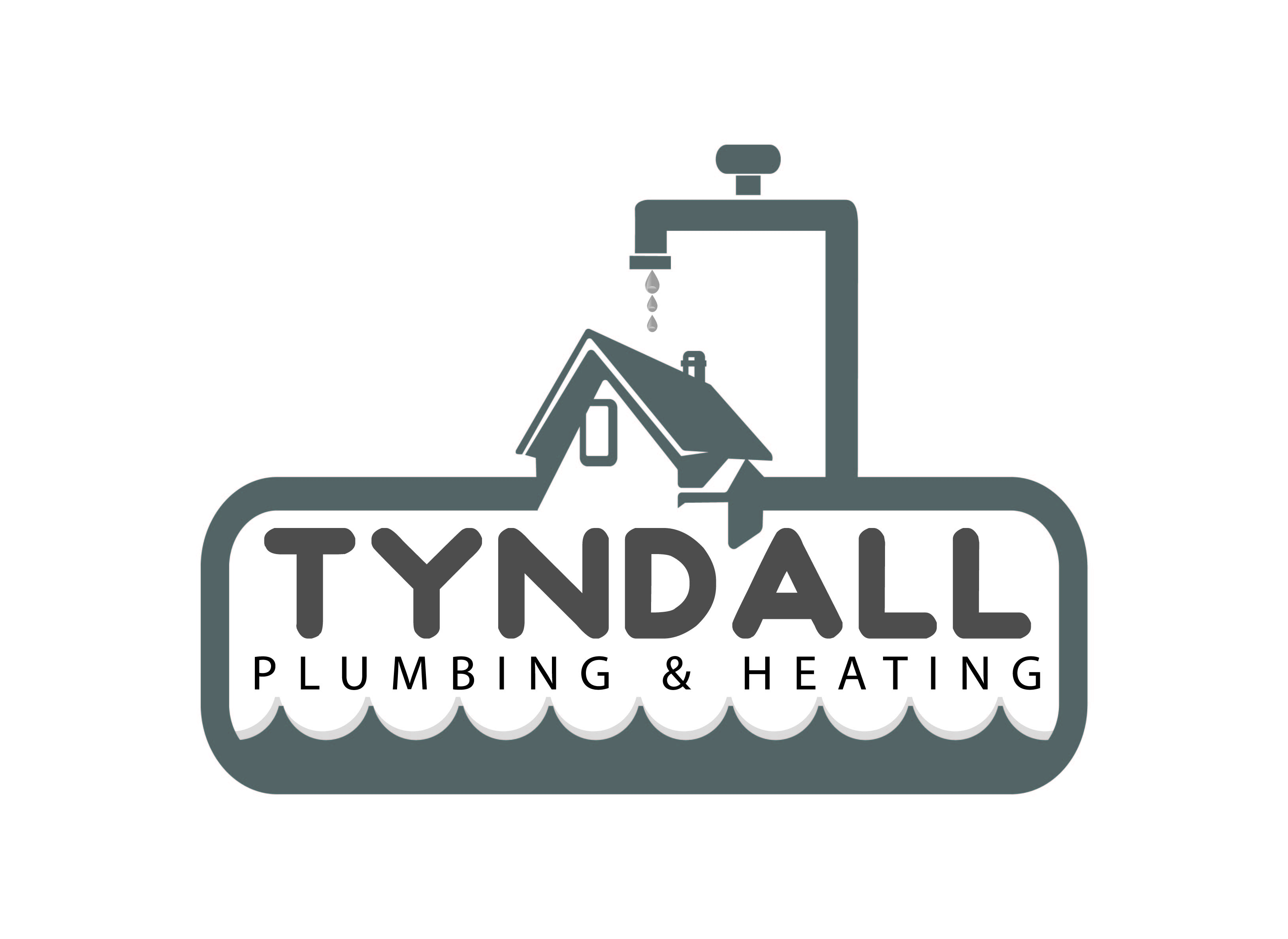 Logo Design by Private User - Entry No. 112 in the Logo Design Contest Imaginative Logo Design for Tyndall Plumbing & Heating.