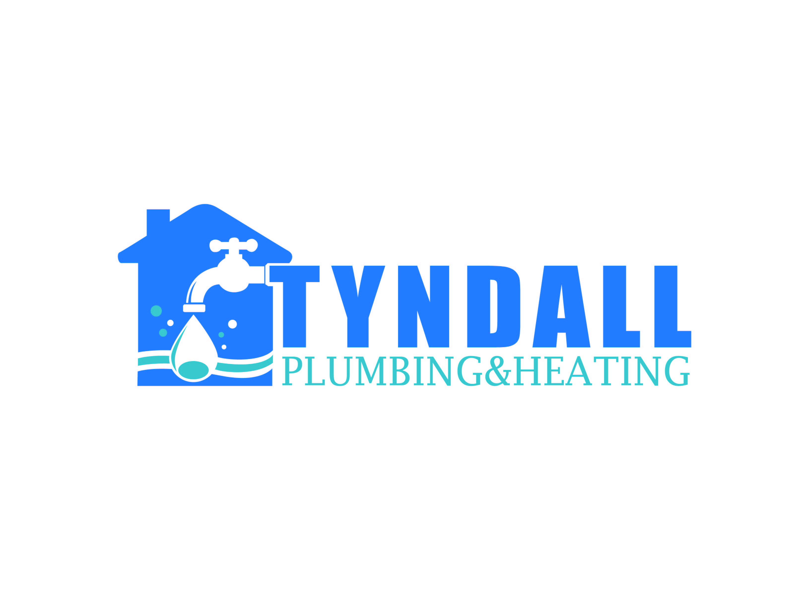 Logo Design by Private User - Entry No. 113 in the Logo Design Contest Imaginative Logo Design for Tyndall Plumbing & Heating.