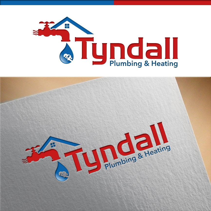 Logo Design by RasYa Muhammad Athaya - Entry No. 119 in the Logo Design Contest Imaginative Logo Design for Tyndall Plumbing & Heating.