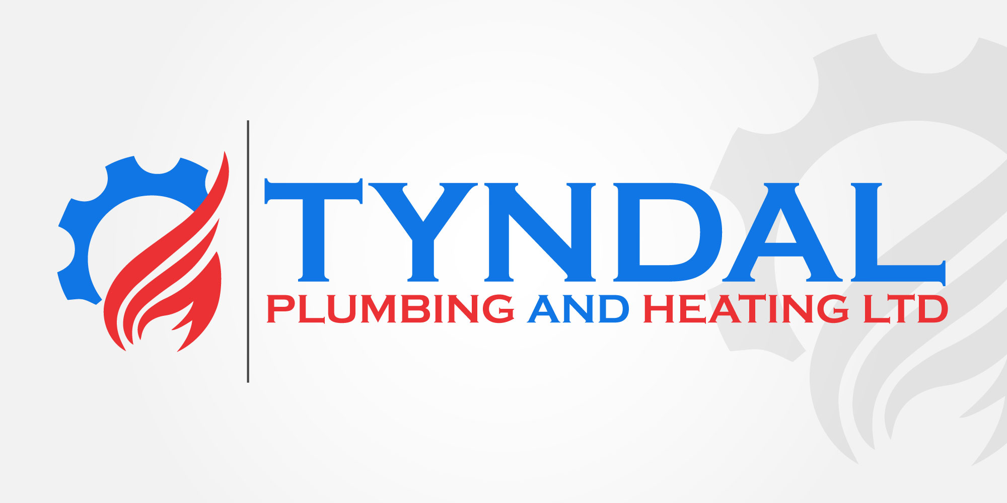 Logo Design by Kamran Khan - Entry No. 121 in the Logo Design Contest Imaginative Logo Design for Tyndall Plumbing & Heating.