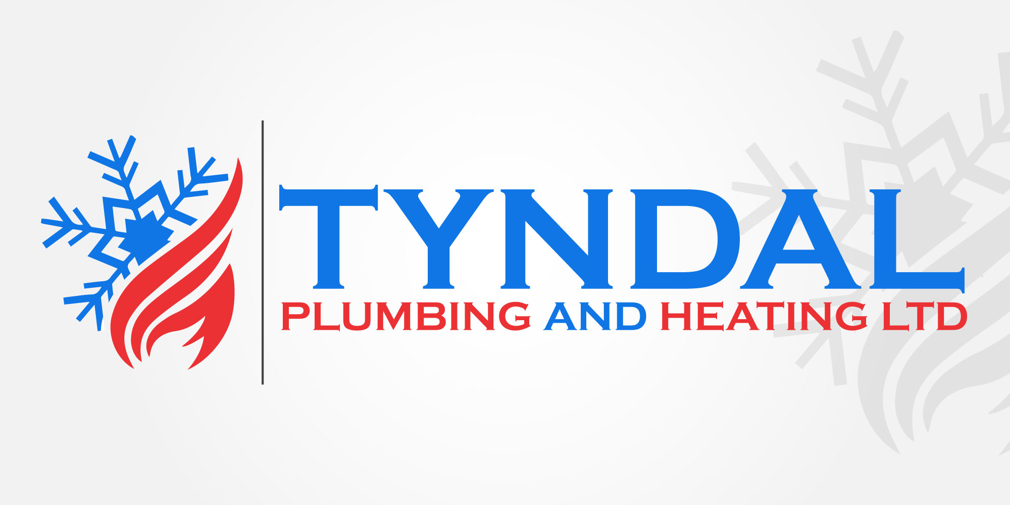 Logo Design by Kamran Khan - Entry No. 122 in the Logo Design Contest Imaginative Logo Design for Tyndall Plumbing & Heating.