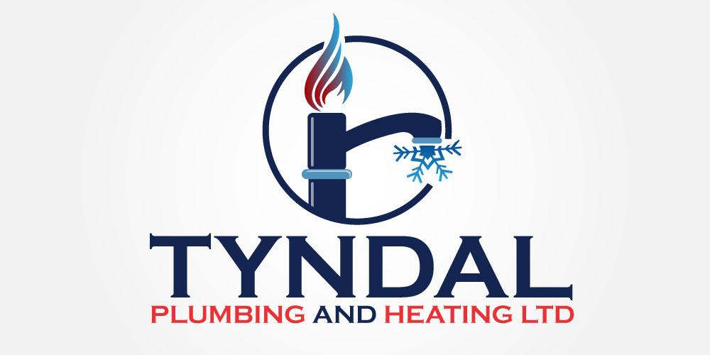 Logo Design by Kamran Khan - Entry No. 123 in the Logo Design Contest Imaginative Logo Design for Tyndall Plumbing & Heating.