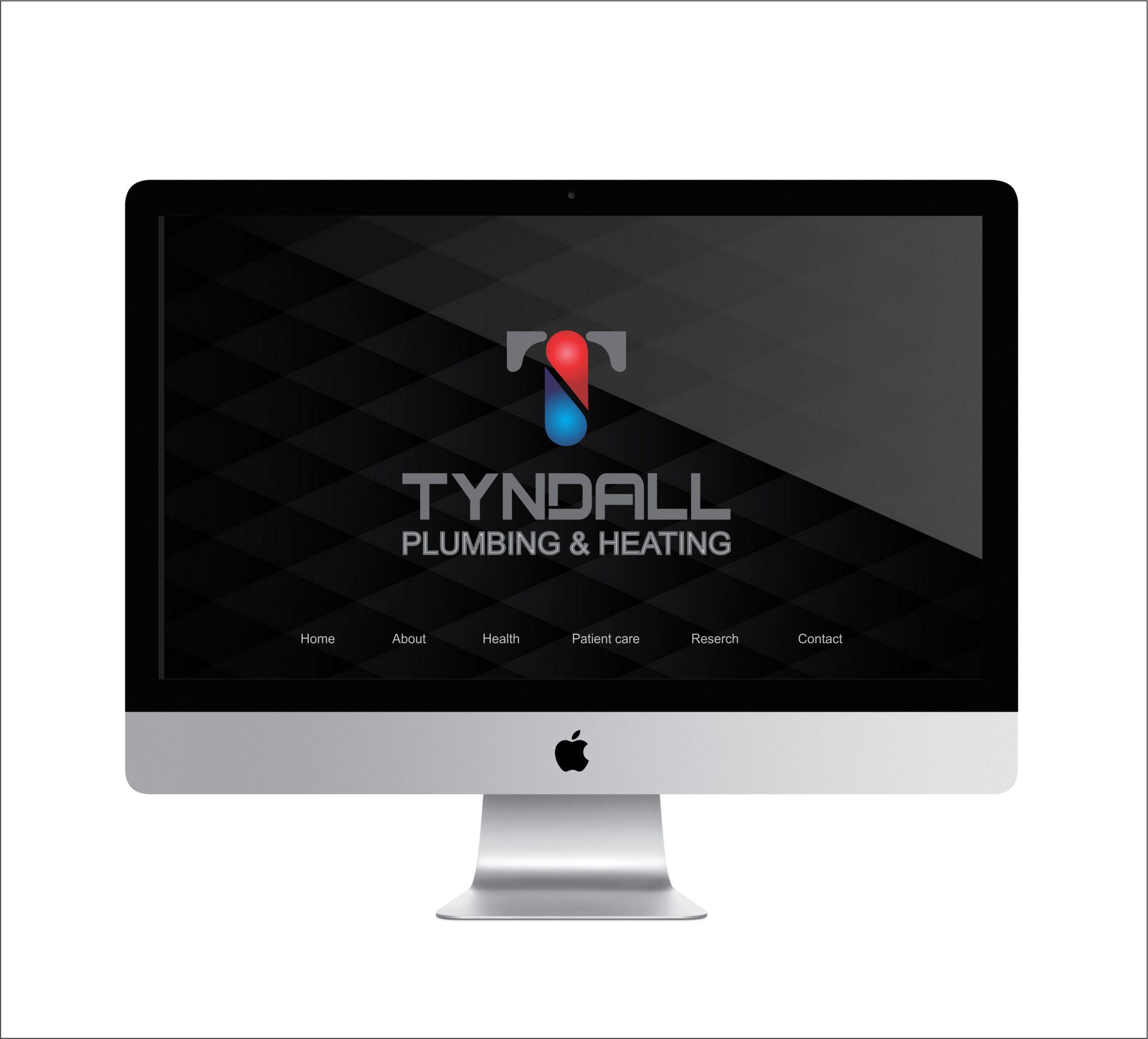 Logo Design by Nikola Kapunac - Entry No. 127 in the Logo Design Contest Imaginative Logo Design for Tyndall Plumbing & Heating.