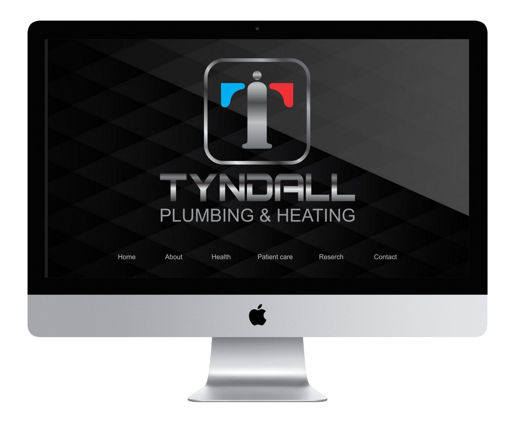 Logo Design by Nikola Kapunac - Entry No. 130 in the Logo Design Contest Imaginative Logo Design for Tyndall Plumbing & Heating.