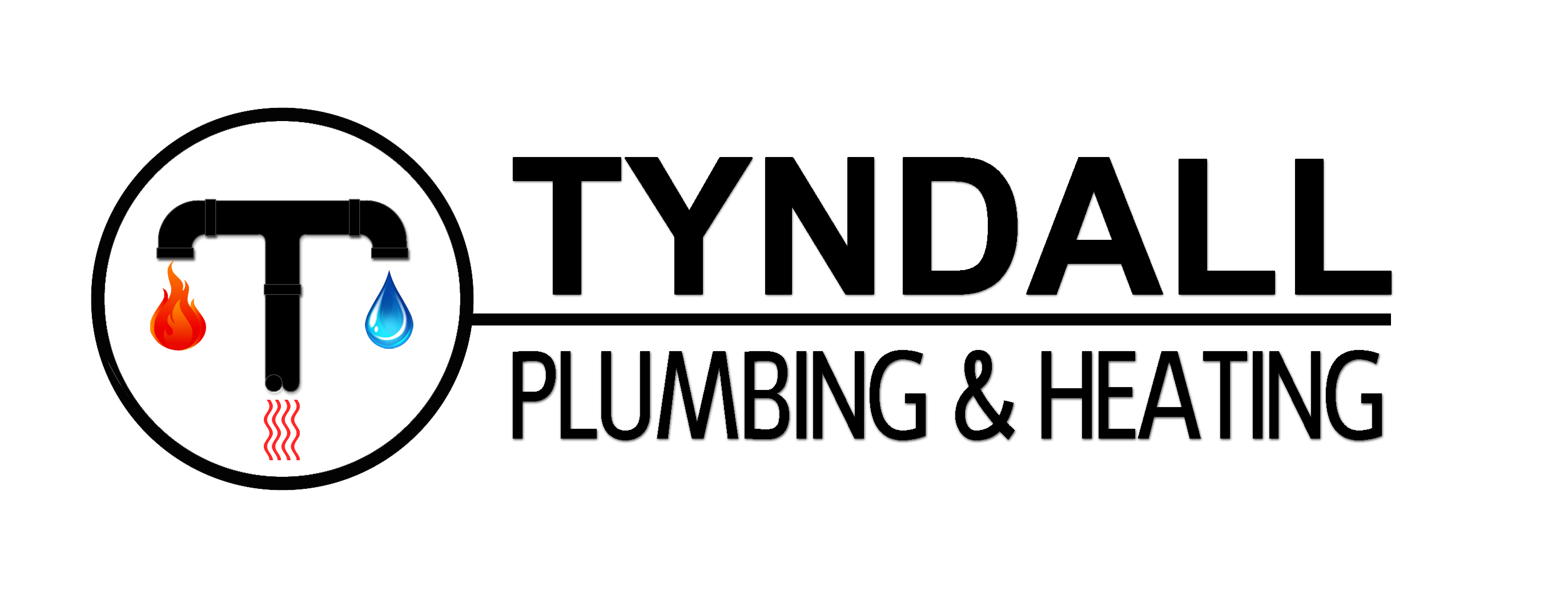 Logo Design by JSDESIGNGROUP - Entry No. 133 in the Logo Design Contest Imaginative Logo Design for Tyndall Plumbing & Heating.
