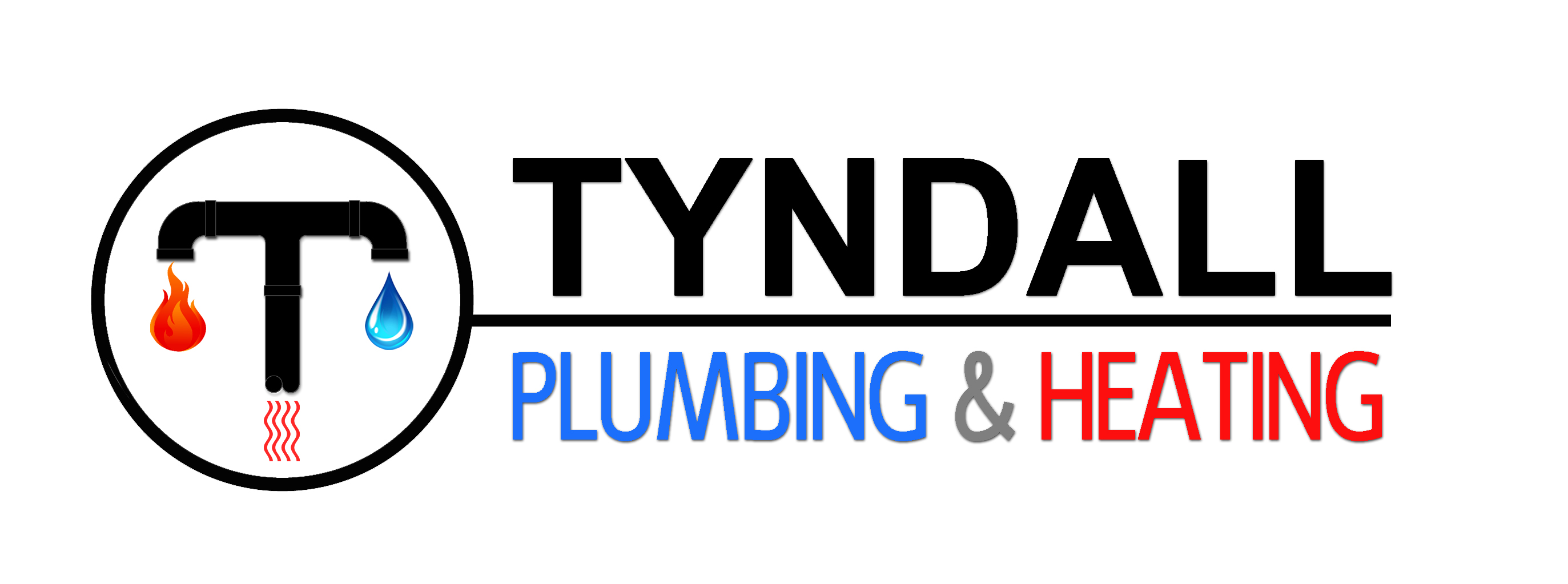 Logo Design by JSDESIGNGROUP - Entry No. 134 in the Logo Design Contest Imaginative Logo Design for Tyndall Plumbing & Heating.