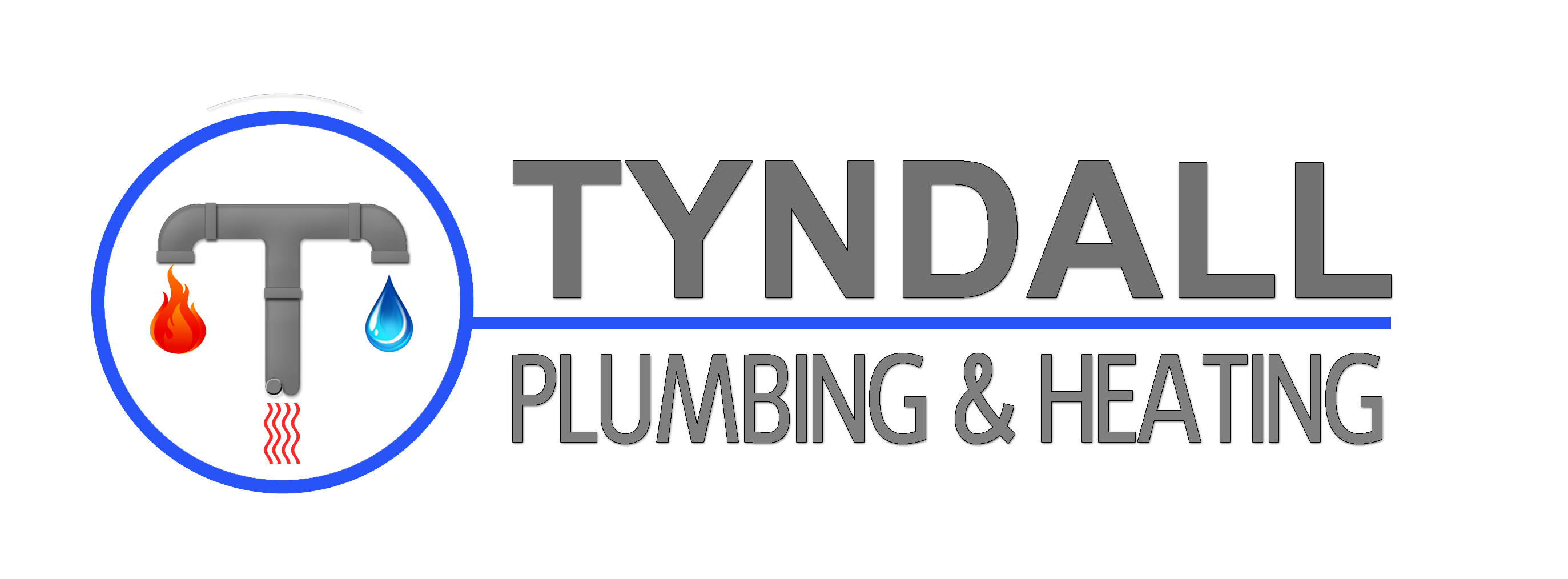 Logo Design by JSDESIGNGROUP - Entry No. 135 in the Logo Design Contest Imaginative Logo Design for Tyndall Plumbing & Heating.