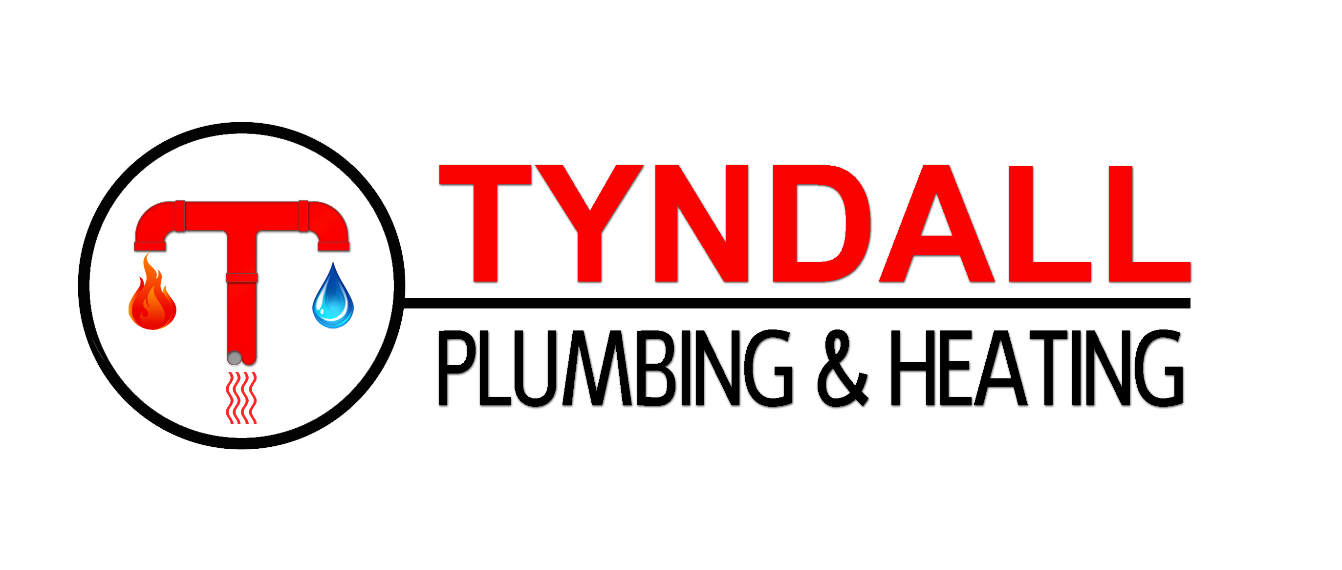 Logo Design by JSDESIGNGROUP - Entry No. 136 in the Logo Design Contest Imaginative Logo Design for Tyndall Plumbing & Heating.