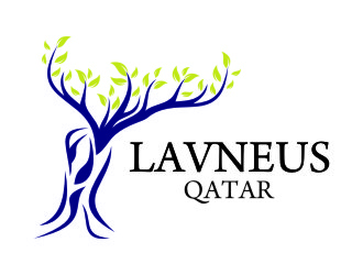 Logo Design by Private User - Entry No. 47 in the Logo Design Contest Imaginative Logo Design for lavneus qatar.