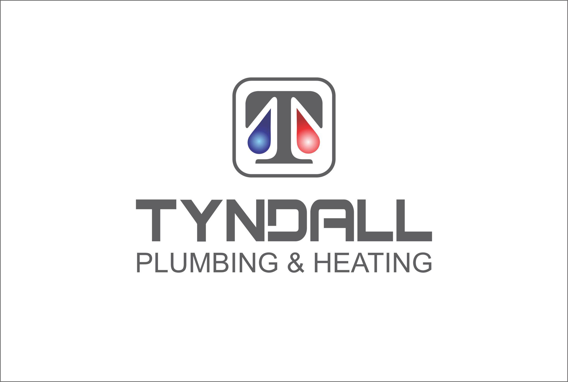 Logo Design by Nikola Kapunac - Entry No. 151 in the Logo Design Contest Imaginative Logo Design for Tyndall Plumbing & Heating.