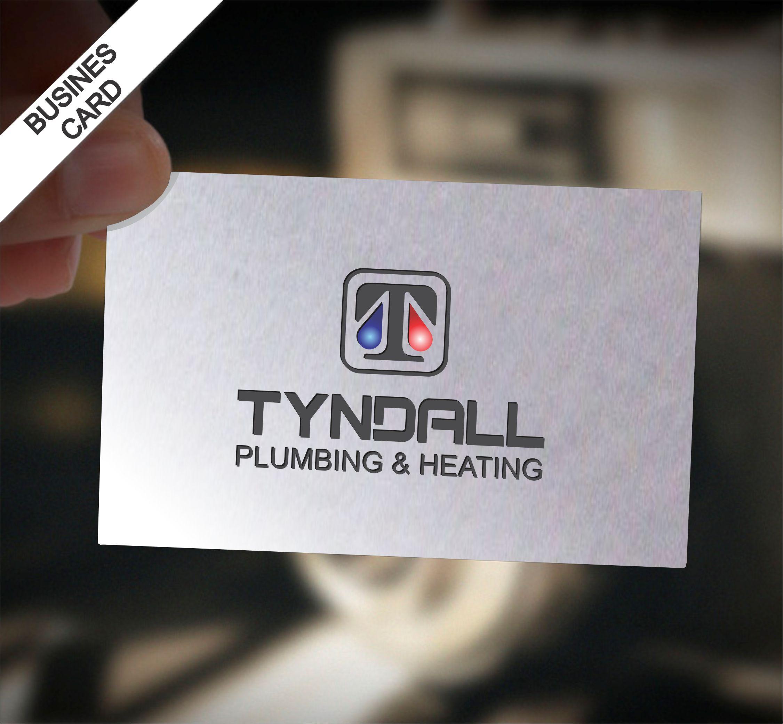 Logo Design by Nikola Kapunac - Entry No. 152 in the Logo Design Contest Imaginative Logo Design for Tyndall Plumbing & Heating.