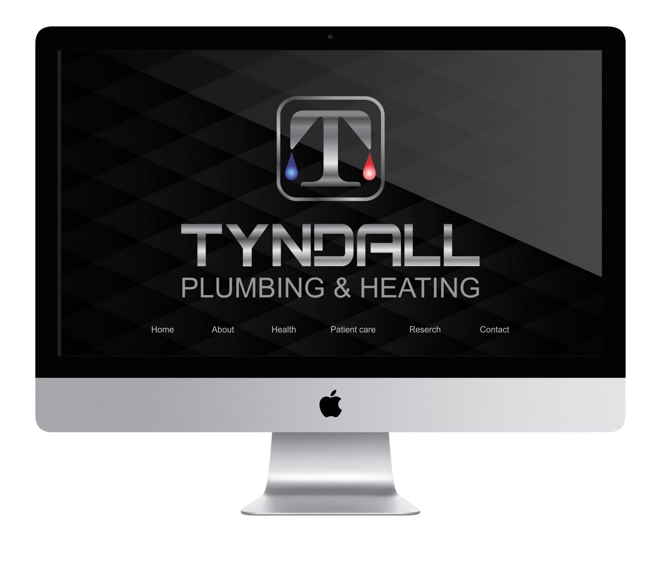 Logo Design by Nikola Kapunac - Entry No. 156 in the Logo Design Contest Imaginative Logo Design for Tyndall Plumbing & Heating.