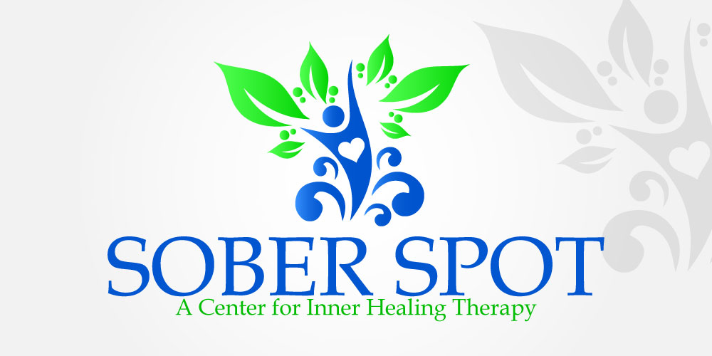 Logo Design by Kamran Khan - Entry No. 82 in the Logo Design Contest Unique Logo Design Wanted for Sober Spot A Center for Inner Healing Therapy.