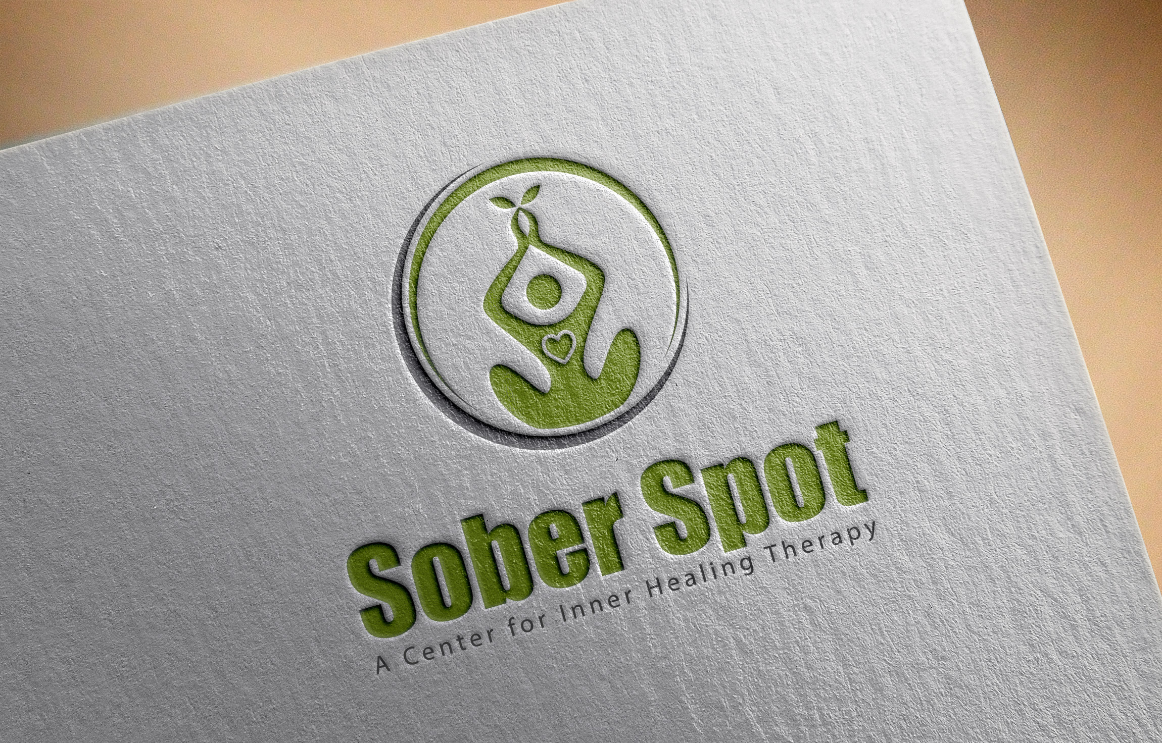 Logo Design by MD SHOHIDUL ISLAM - Entry No. 90 in the Logo Design Contest Unique Logo Design Wanted for Sober Spot A Center for Inner Healing Therapy.