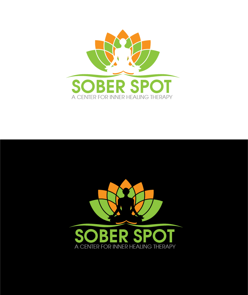 Logo Design by Private User - Entry No. 95 in the Logo Design Contest Unique Logo Design Wanted for Sober Spot A Center for Inner Healing Therapy.