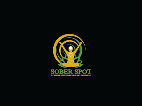 Logo Design by pojas12 - Entry No. 97 in the Logo Design Contest Unique Logo Design Wanted for Sober Spot A Center for Inner Healing Therapy.