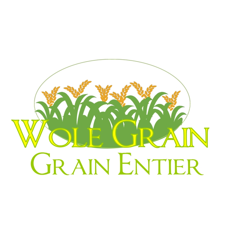 Logo Design by csmyly44 - Entry No. 41 in the Logo Design Contest Whole Grain / Grain Entier.