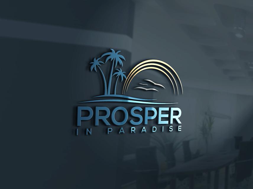 Logo Design by Private User - Entry No. 11 in the Logo Design Contest New Logo Design for Prosper in Paradise.
