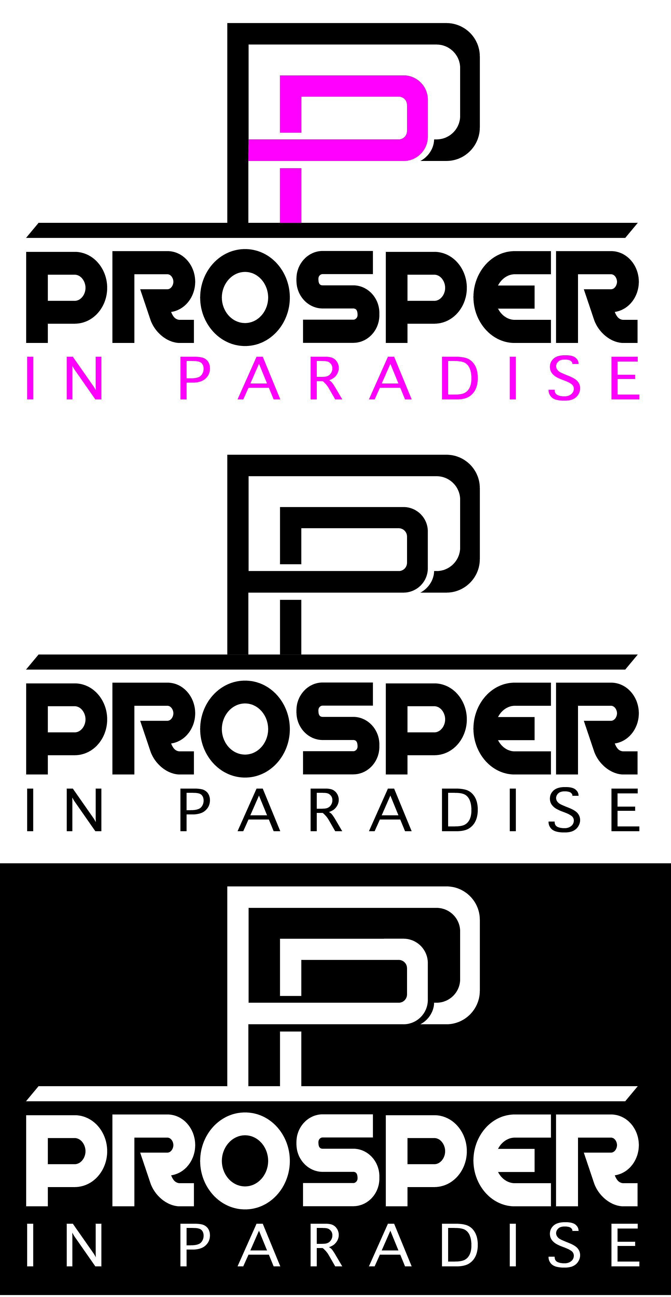 Logo Design by Rob King - Entry No. 18 in the Logo Design Contest New Logo Design for Prosper in Paradise.